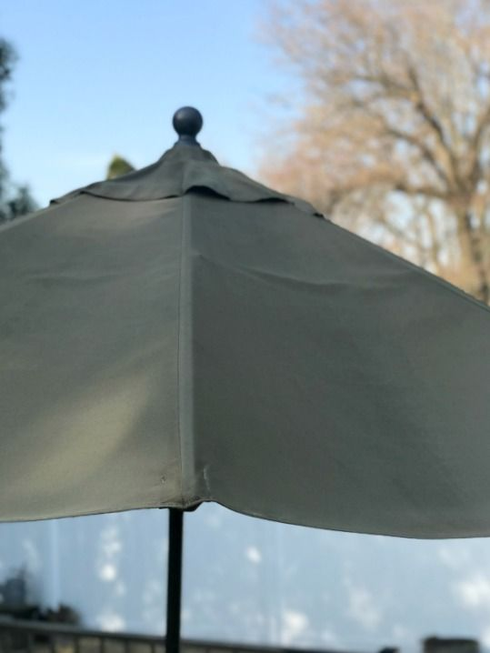 How To Clean A Patio Umbrella Backyard Pinterest Cleaning