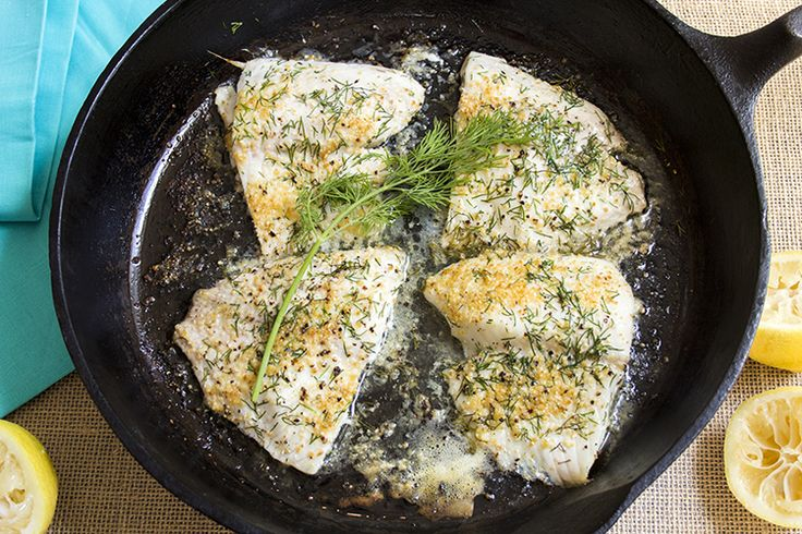 4 - 4 oz tilapia fillets 4 tsp light butter, melted 2 Tbsp lemon juice 4 tsp fresh dill weed, snipped 1 tsp lemon peel seasoning pepper to t...