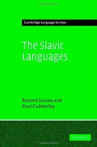 The Slavic Languages (Cambridge Language Surveys) by Roland Sussex. $40.00
