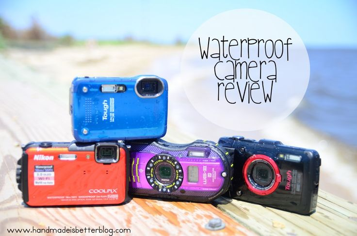 Choosing the best waterproof/underwater camera.  A comprehensive review of four of the top waterproof cameras