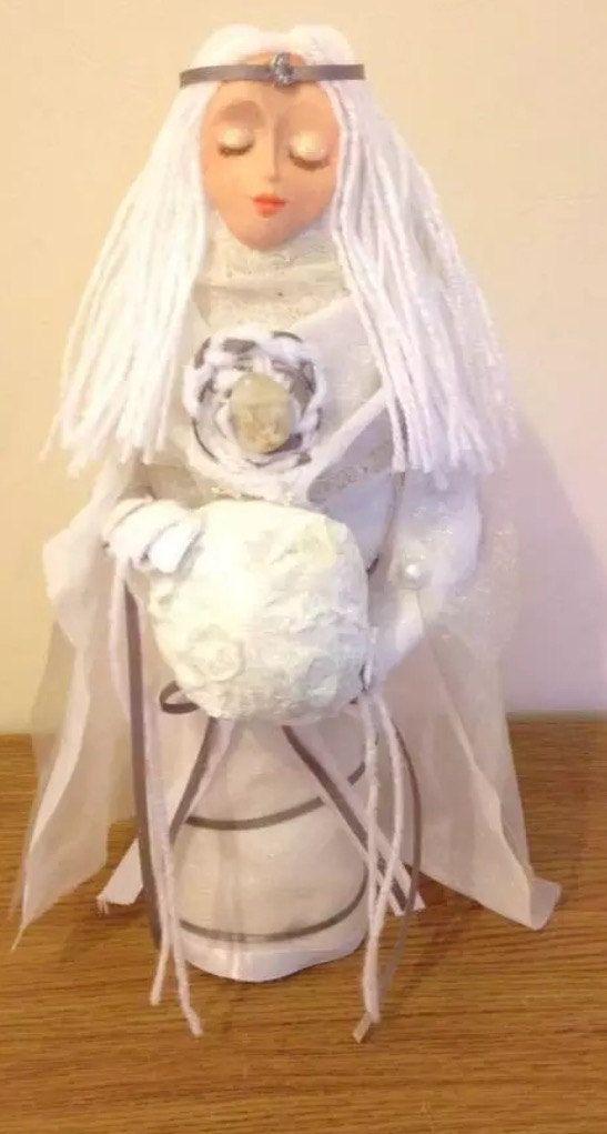 Luna Moon Goddess by WhiteWolfCraft on Etsy
