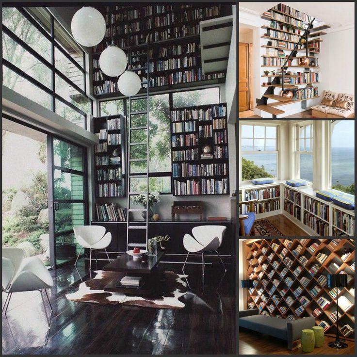 Милейшие идеи домашней библиотеки.
