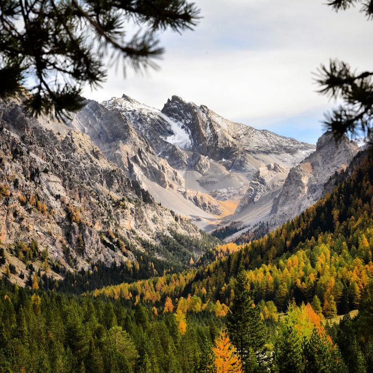Premiers saupoudrages sur les plus hauts sommets... :-) #Vars #VarsFob #MyHautesAlpes #TourismePACA #Montagne #Automne