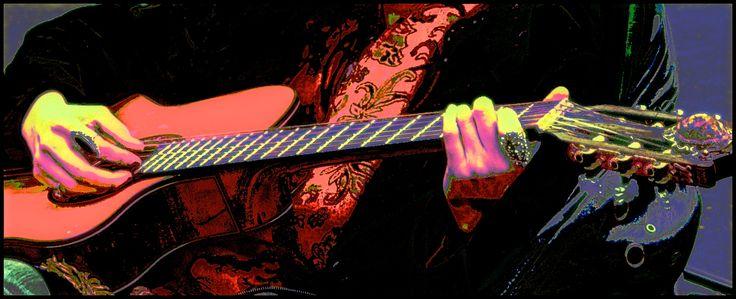 Guitar playing....