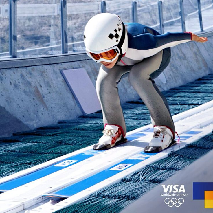 Women's Ski Jump. First time ever in Olympics! Sochi 2014.