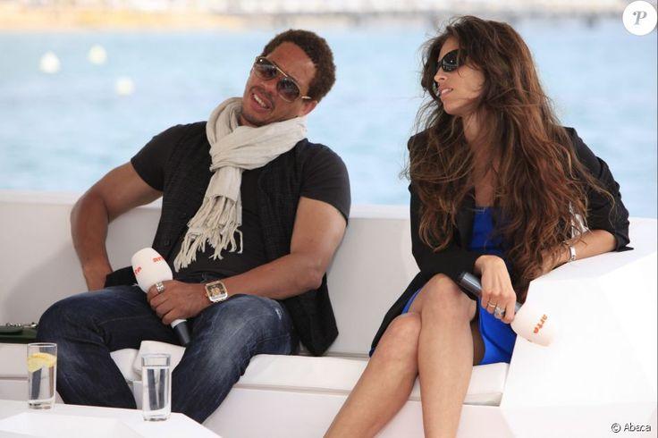 Maïwenn et JoeyStarr en interview lors du Festival de Cannes 2011