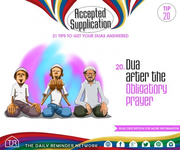Accepted Supplication - Tip
