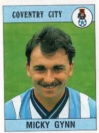 Micky Gynn. Another of Bobby Gould's 1983 signings, this time from Peterborough United. Went on to make 241 appearances for the club, scoring 32 goals, and starred in the FA Cup winning side of 1987