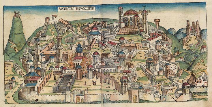 Nuremberg chronicles f 63v 1 - Babylonian captivity - Wikipedia, the free encyclopedia