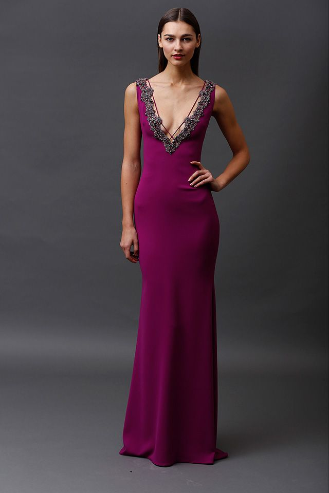 Badgley Mischka: romantic and sensual #designerfashion #couture