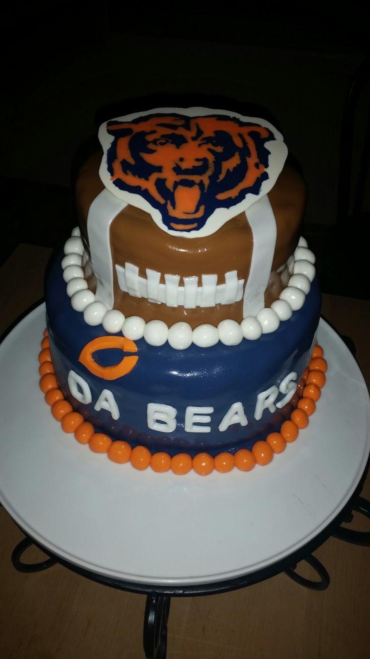 Chicago Bears Birthday Cake