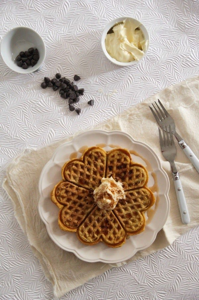 Pumpkin, Sour Cream Waffles | This is why New England = Home | Pinter ...