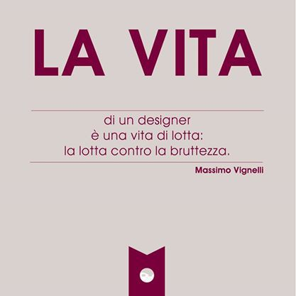 #massimovignelli #designer