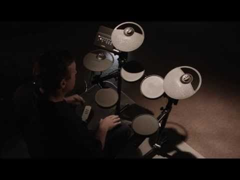 Yamaha Electronic Drums - DTX 400K  with Steve Fisher http://ehomerecordingstudio.com/best-electronic-drums/