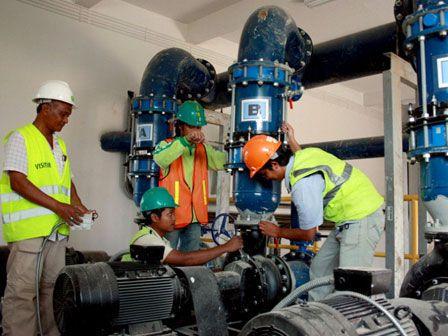 Pemprov DKI Bangun Instalasi Air Laut Bersih di Penjaringan