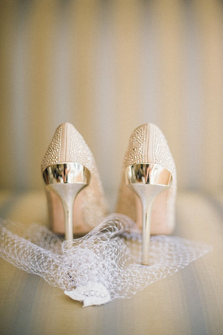 Bridal Wedges Ivory
