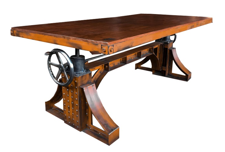 Dining Table American Industrial Revolution Chic House