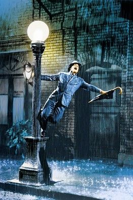 Singing In The Rain - one of those classic movies that I was lucky enough to watch on a VHS player. #throwback to 2 decades ago