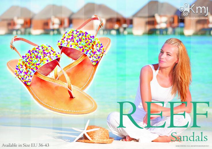 Reef - leather sandal EU36-EU43 Spring/Summer 2015  www.kmjshoes.com.au
