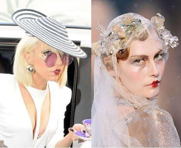 Lady Gaga Rocks The Faux Pursed Pucker Lipstick Look #makeup trendhunter.com