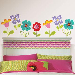Wall Pops Petals Blox and Stripe Wall Decals