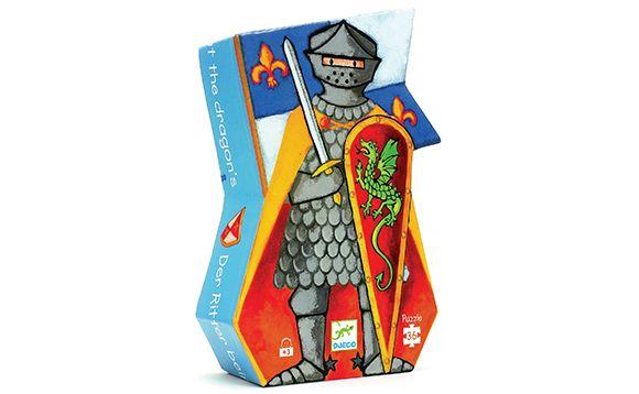 Puzzle Conte de fées - Le chevalier et dragon