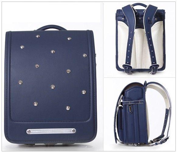 Кулоновского 2016 роскошные рюкзак японский randoseru заклепки аксессуары средний размер 8 цвет купить на AliExpress
