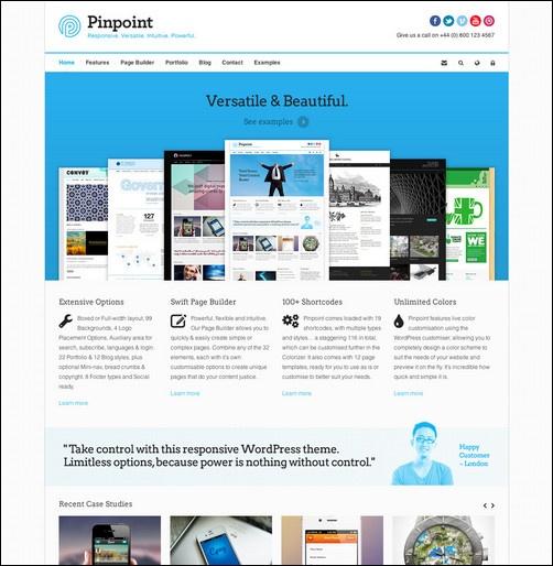 Pinpoint - Responsive Multi-Purpose WP Theme