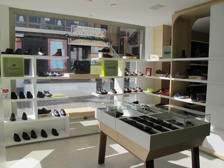 Mostaza Design | Walk! by Fund Grube | Lanzarote, Gran Canaria | Shoes & Accessories Shop | Display shoes | #retaildesign #mostazadesign #fundgrube #interiordesign #interiors #retail