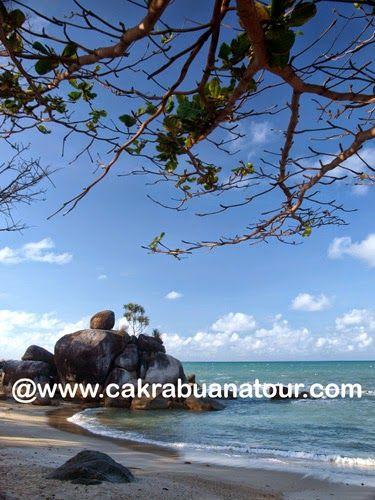 wisata Pantai Teluk Limau Sungailiat Bangka tour