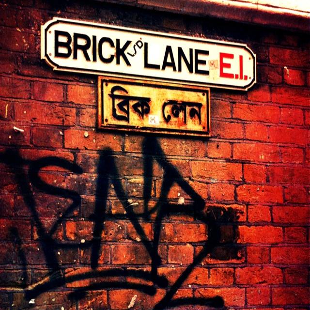 Brick Lane, London ~ Best dinner ever with Carter!