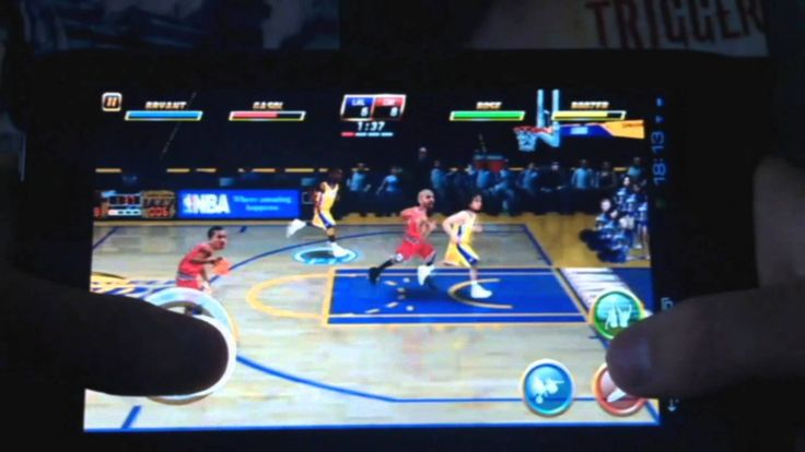 Gameplay NBA Jam на Acer Iconia Tab A100 (+playlist)