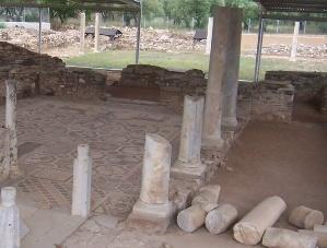 Ancient Greece Basilika of Sofronios in Nikiti (Nikitas) Halkidiki (Sithonia)