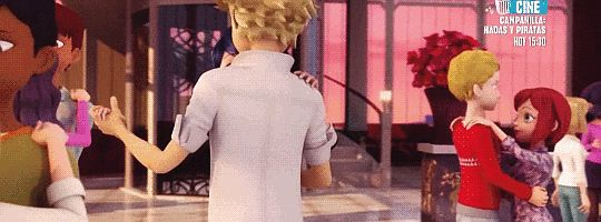 Adrien and Marinette dancing together in season 2 of miraculous Ladybug is the best thing I've seen all year.