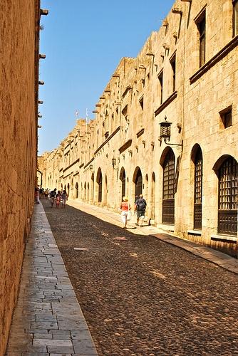 Rhodes, Old Town Alley