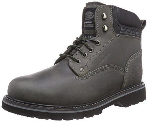 Oferta: 79.94€. Comprar Ofertas de Dockers 23DA104 - Botas de cuero para hombre, color gris, talla 44 barato. ¡Mira las ofertas!