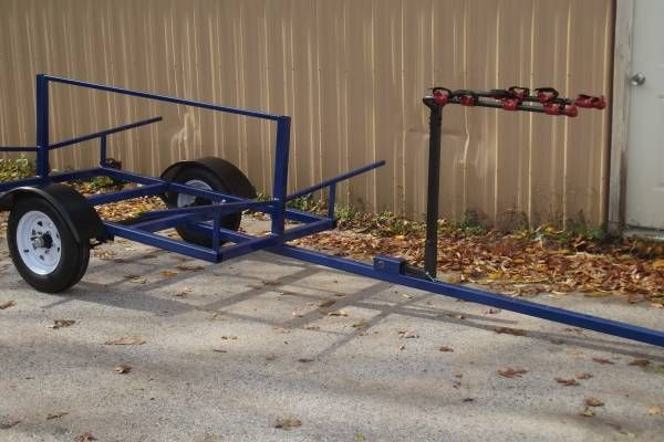 Kayak Trailer The Industry Bike Rack With 2 6