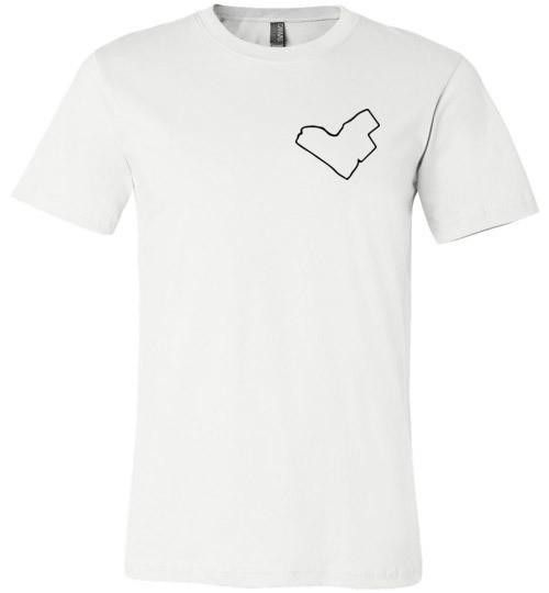 Unisex Heart This City Tee