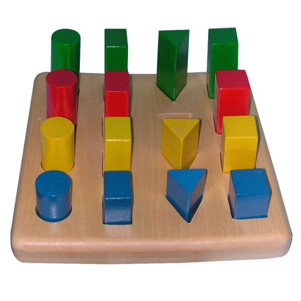 Material Montessori.