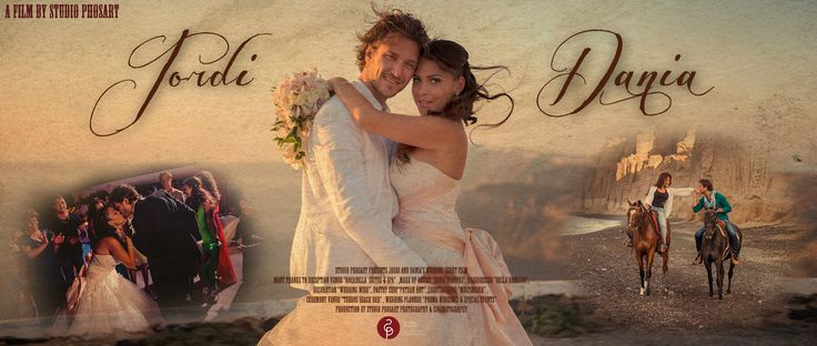 Jordi & Dania | Wedding in Santorini | Short-film. Glamorous destination wedding in Santorini, Greece with Jordi & Dania