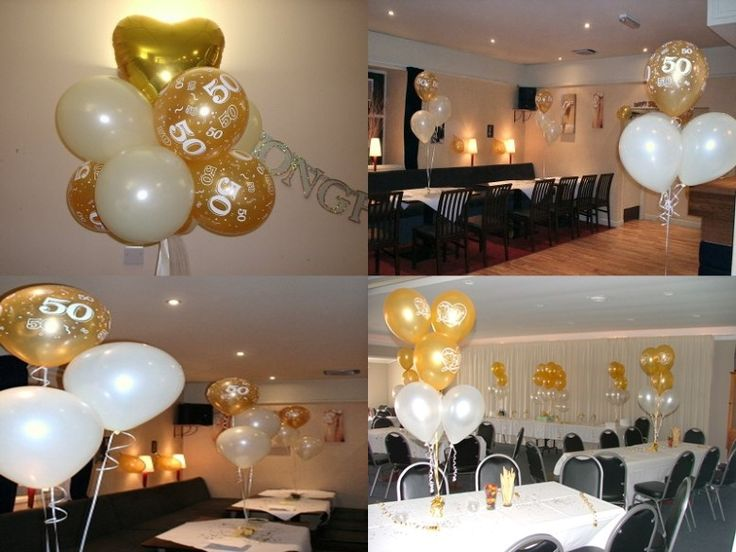 290 best party ideas 50th anniversary images on for Anniversary decoration ideas