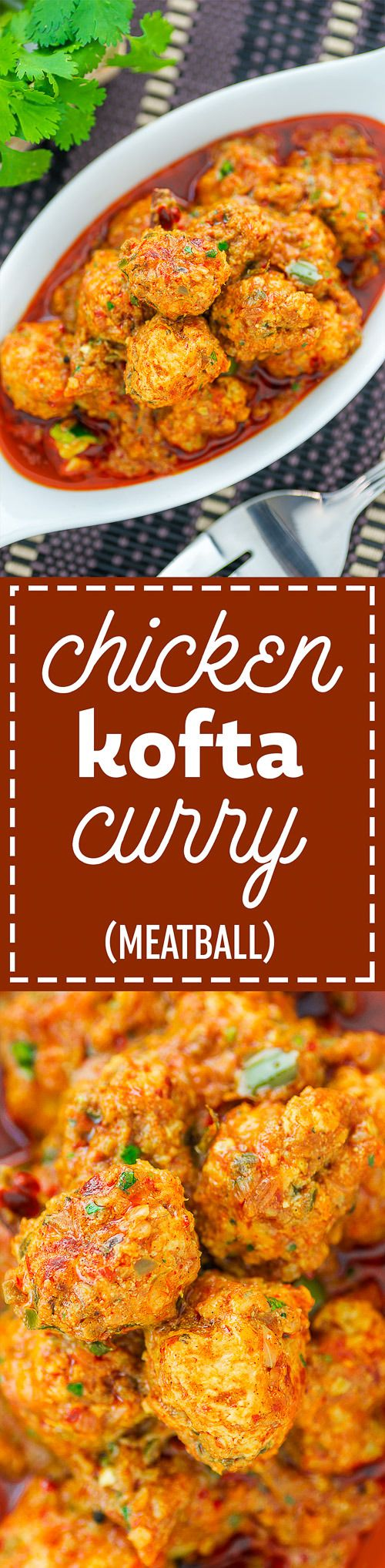 Chicken Kofta Curry is a spicy indian dish. Find the recipe here.