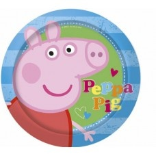 Party Plates - 8 Peppa Pig