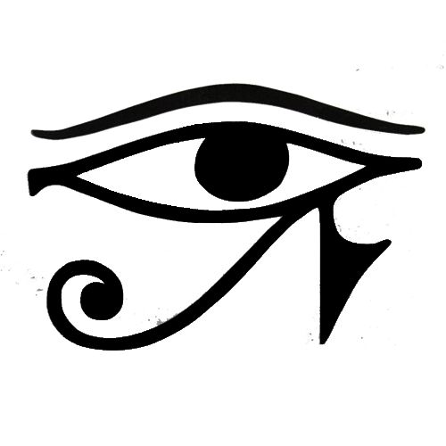 Eye of Ra Laptop Car Truck Vinyl Decal Window Sticker PV824