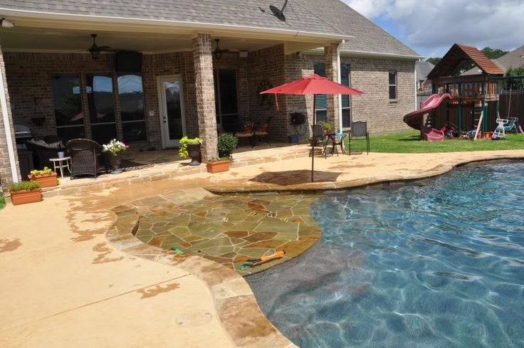 Best 25 walk in pool ideas on pinterest pool with beach for Walk in pool designs