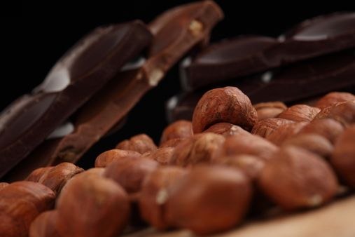 Download Free Stock Photos & Images:  - Candy, Chocolate with Nuts, Dessert, Texture. photo 0001666602NN