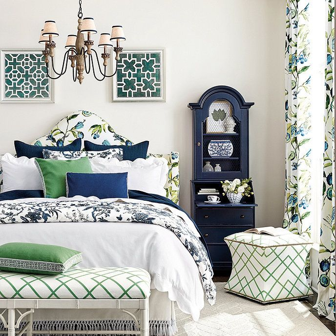 Bedroom Decorating Ideas Totally Toile: Jardin Toile Bedding (With Images)