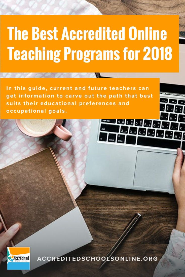 25 Best Online Teaching Programs 2021 Accredited Schools Online Teaching Programs Online Teaching Online Education