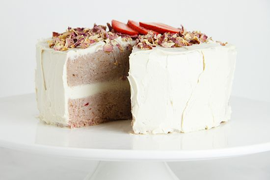 Raw Strawberry Layer Cake-11