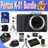 Getting Pentax K-01 16MP APS-C CMOS Compact Method Digital camera [Entire body] (Black) + Extended Daily life Battery + 32GB SDHC Class ten Memory Card + USB Card Reader + Memory Card Wallet + Deluxe Case w/Strap + Shock Proof Deluxe Case + Mini HDMI to HDMI Cable + Professional Complete Size Tripod + Accessory Saver Bundle! On the web - http://buyingmanual.com/getting-pentax-k-01-16mp-aps-c-cmos-compact-method-digital-camera-entire-body-black-extended-daily-life-battery-32gb